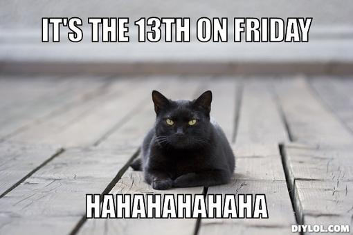 Fear of Friday the 13th and other phobias